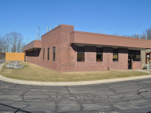 Outside view of the USGS building.